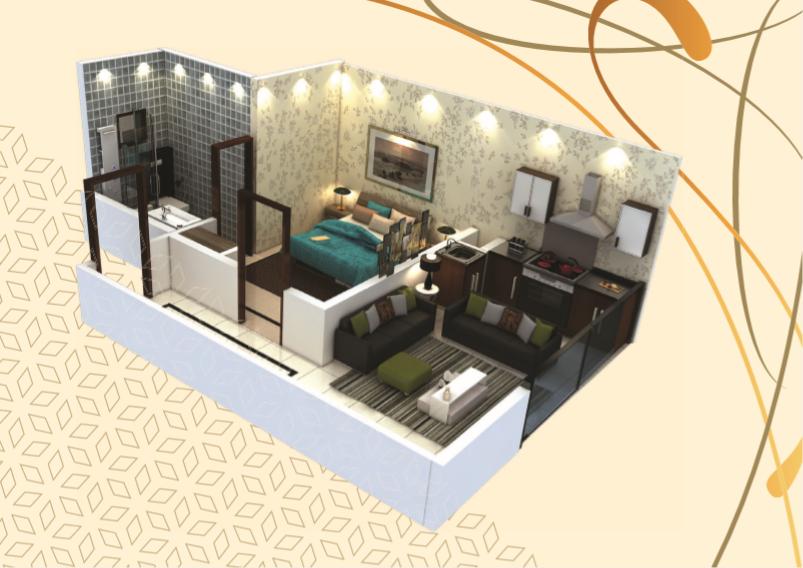 Theme Residency - 1 Bedroom