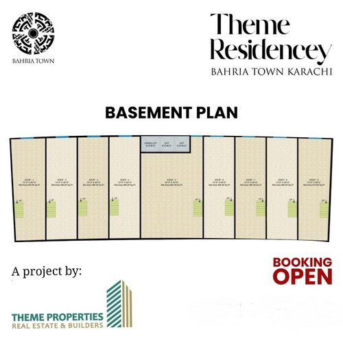 Theme Residency - Basement Plan