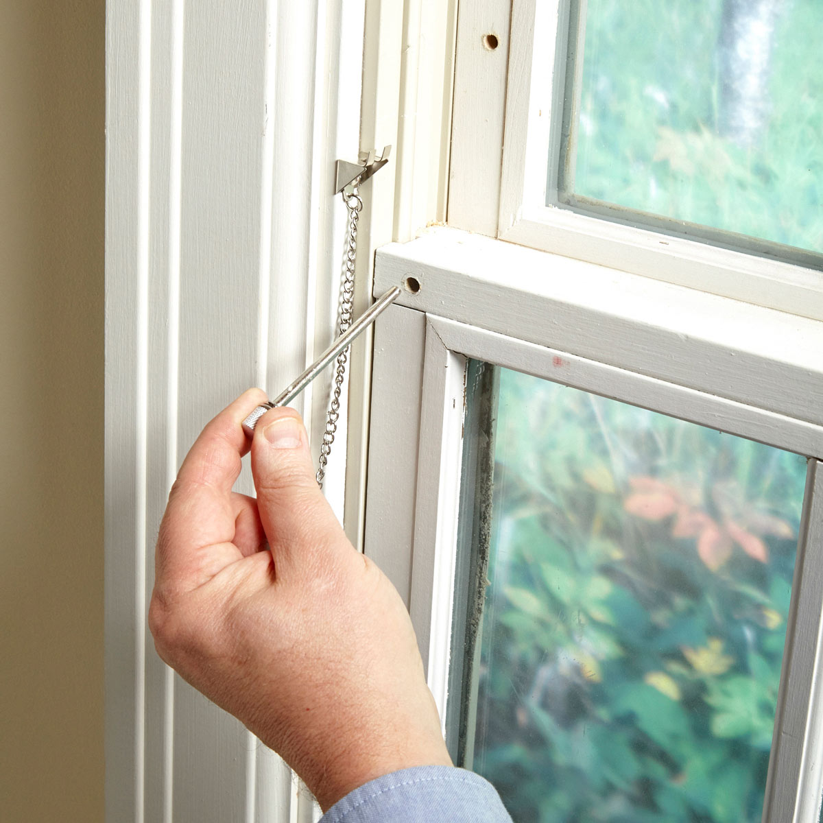 Pin lock for window home safety
