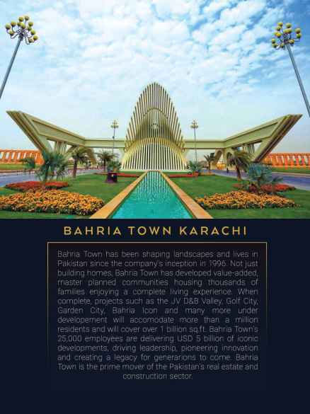 Theme Park Tower in Bahria Town Facing Project