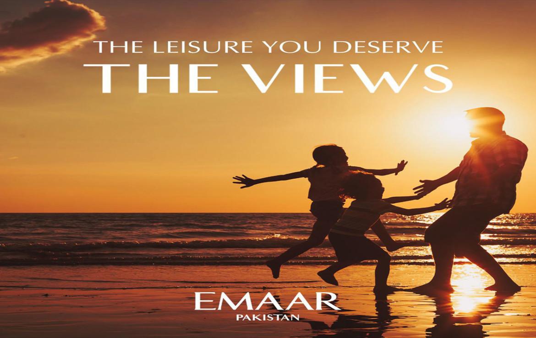THE LEISURE YOU DESERVE THE VIEWS EMAAR PAKISTAN