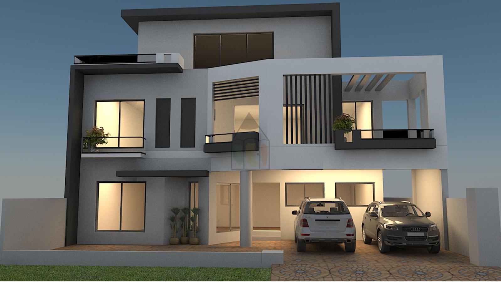 Simple 5 Marla House Plan